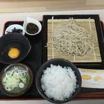 四季蕎麦 - 料理写真:卵かけご飯セット