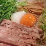 麺屋 旬 - こってり汁なし(750円)