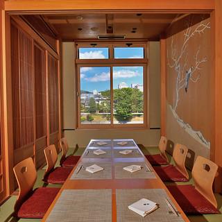 京都の四季を望むプライベート空間