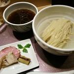 らぁ麺 山雄亭 - つけ麺(醤油味)¥1100