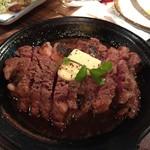 肉とクラフトビール やまもと - 熟成肉のステーキ