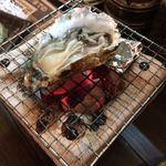 ぢどり長屋 - 牡蠣の酒焼き