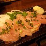 彩り - 料理写真:鶏刺し