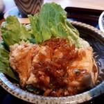 神楽坂 料理 やま本 - 油淋鶏