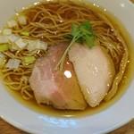 地鶏らーめんはや川 - 料理写真:地鶏醤油ラーメン