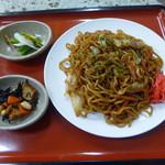 大谷石体験館 食堂 - 料理写真:焼きそば(500円)_2017-12-10
