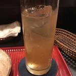 酣 - 梅酒のソーダ割り^ ^