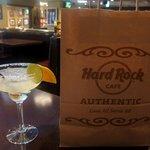 ハードロックカフェ - グラス付きが嬉しい