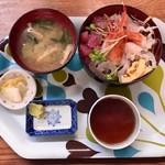 駅前いちば食堂 - 【海鮮丼…900円】♫2017/11