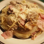ボラーチョ - 牡蠣のスパゲティ