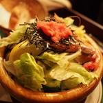 ボラーチョ - シーフードサラダ