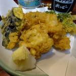 丸千葉 - 白子の天ぷら