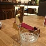 串焼き やさい巻き&ワイン BRANCH - スパークリングがマイブームなのだ!