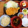 餃子会館 - 料理写真:ロースカツ定食