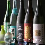 花月 - 【花月】自慢の懐石料理に合わせた日本酒の数々をラインナップ