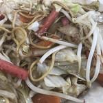 丸幸ラーメンセンター - 野菜は豊富です