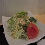 BOUNO参丁目 - セットのサラダは野菜サラダ。