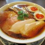 らぁ麺 紫陽花 - 特製醤油らぁ麺 大盛り 980円(税込)。      2017.12.13
