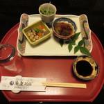 魚屋別館 - 料理写真:懐石コース 6000円