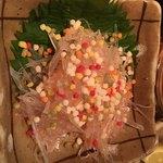 丸榮 - サメ軟骨の梅肉和え