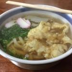 やまこうどん - 料理写真:寒い中、アツアツの美味しいおうどん。380円です。優しいお出汁がしみます。