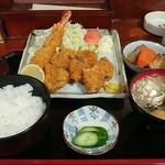 御食事処 竹弘 - 料理写真:ミックスフライ定食