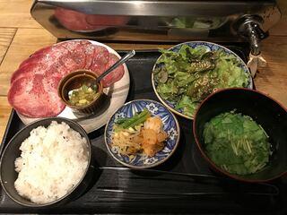 四五六 - 【2017.11.30】牛たん定食¥1180