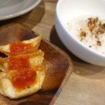 太陽のトマト麺 - 太陽のチーズラーメン 886円 + Aセット 302円