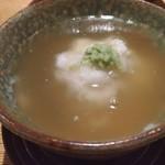 亀甲屋 - 鶏占地エノキ茸のあん仕立て