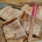 亀甲屋 - 穴子の白焼き