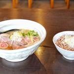 麺屋NOROMA - 特選鶏そば 950円