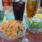 クイーンガーデン - サラダ&ドリンク