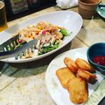 77999563 - 豆腐サラダ&豆腐ナゲット♪
