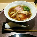 らぁ麺 山雄亭 - 平成29年1月に食べた「醤油らぁ麵」¥1000