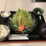 やきとりひびき庵別館 - 国産どり炙り焼き定食サラダ仕立て