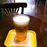 フレッシュネスバーガー - まずはビールがきました