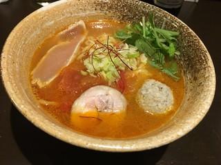La らぁ麺 ニコル - とまとSOBA 1,000円