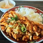 中華料理 中華厨房 - 麻婆丼 580円