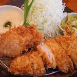 とんかつ 豚ゴリラ - 麦とろとんかつ膳(平日ランチタイム・アイス付き)