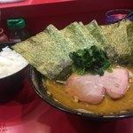 78006305 - 並麺硬海苔ご飯