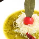 麺 藏藏 - バジルdeグリーン味噌