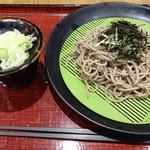 ぶんか亭 - 朝ザル蕎麦