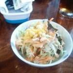 ナシルのカレー - サラダ