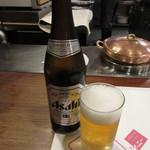 近江牛レストラン ティファニー - 瓶ビール(中瓶) 600円(税込648円) (2017.11)
