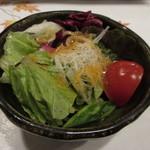 近江牛レストラン ティファニー - 近江牛ステーキランチ 季節のサラダ