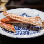 豪龍久保 - 料理写真:焼松葉蟹 浜坂港