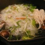 梵天丸 - しゃぶしゃぶ鍋 ※野菜投入後