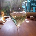 祇園NITI - グラスシャンパン