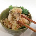 スタンド上松 - かき飯・アップ