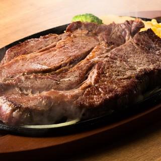 肉好きにはたまらないステーキ屋さん